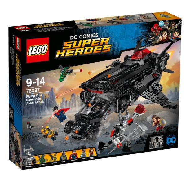 76087 - Volpe volante: attacco al ponte aereo con la Batmobile - Lego Super Heroes - Toys Center LEGO SUPER HEROES Maschio 12+ Anni, 8-12 Anni ALTRI
