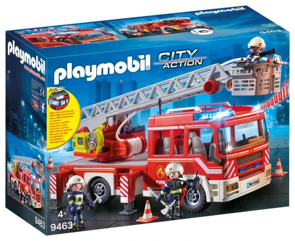 AUTOSCALA DEI VIGILI DEL FUOCO - Playmobil - City Action - Toys Center PLAYMOBIL - CITY ACTION Unisex 12+ Anni, 3-5 Anni, 5-8 Anni, 8-12 Anni ALTRI