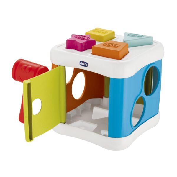2 IN 1 CUBO INCASTRA & MARTELLA - Chicco - Toys Center - Chicco - Giochi elettronici e bilingue