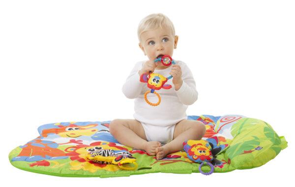 3 in 1 Safari Gym - Altro - Toys Center ALTRI Unisex 0-12 Mesi, 12-36 Mesi ALTRO