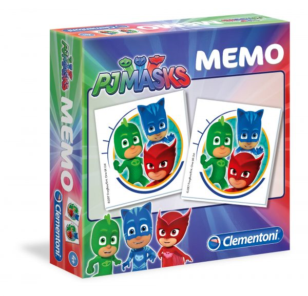 MEMO GAME PJ MASKS MEMORY Unisex 3-5 Anni, 5-8 Anni PJ Masks