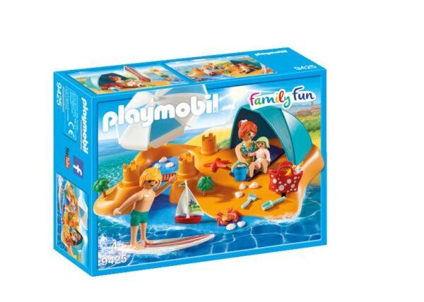 FAMIGLIA IN SPIAGGIA - PLAYMOBIL - FAMILY FUN - Altri giochi per l'infanzia