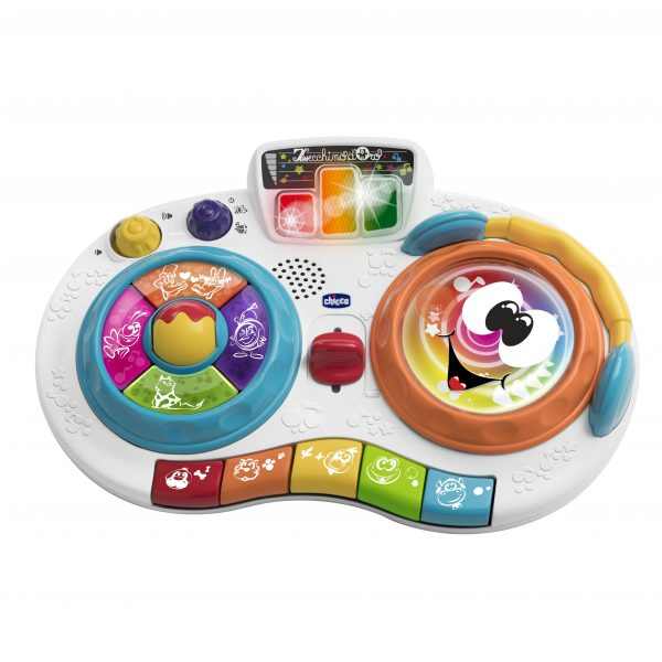 PIANO DJ MIXY - Chicco - Toys Center Chicco Unisex 0-12 Mesi, 12-36 Mesi ALTRI
