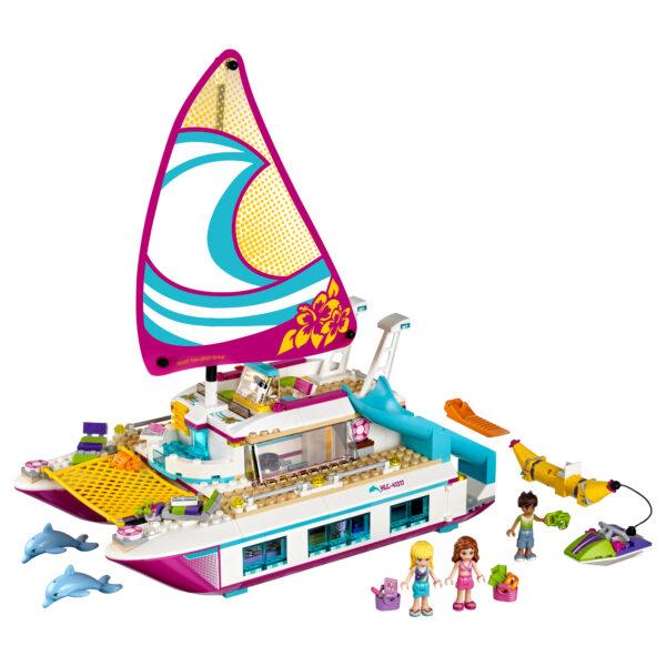 LEGO FRIENDS ALTRI LEGO  Friends- Il Catamarano - 41317 Femmina 5-7 Anni, 5-8 Anni, 8-12 Anni