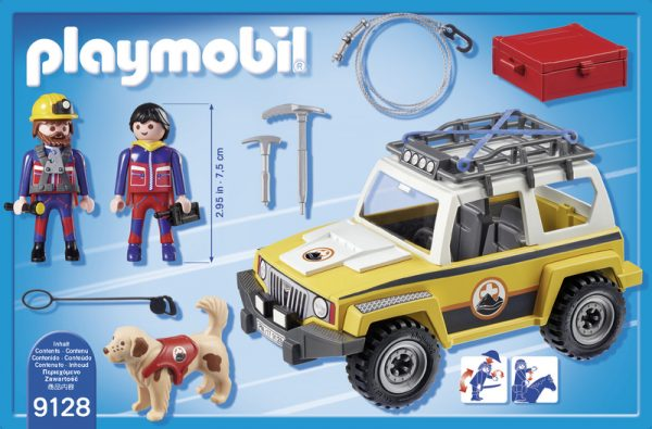 MOUNTAIN JEEP SOCCORSO ALPINO - PLAYMOBIL - ACTION - Playset e accessori per personaggi d'azione