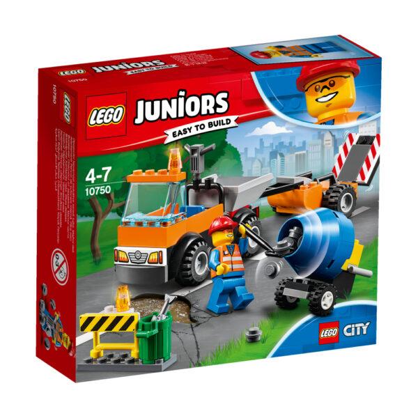 10750 - Camion della manutenzione stradale - Lego Nuovi Arrivi - LEGO - Marche LEGO JUNIORS Maschio 3-5 Anni, 5-8 Anni ALTRI