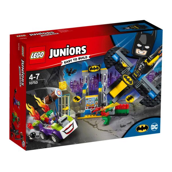 10753 - Attacco alla bat-caverna di The Joker™ - Lego Juniors - Toys Center LEGO JUNIORS Maschio 3-5 Anni, 5-8 Anni ALTRI