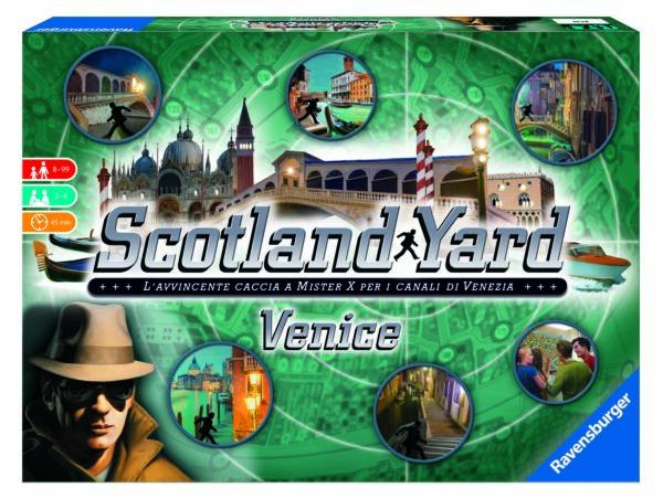 Scotland Yard Venice - Gioco di società Ravensburger RAVENSBURGER CLASSIC Unisex 12+ Anni, 8-12 Anni ALTRI