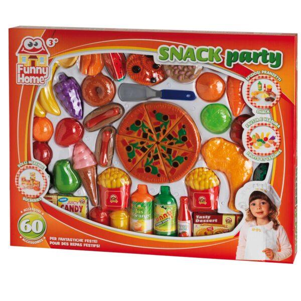 FUNNY HOME Set snack party FUNNY HOME Unisex 12-36 Mesi, 3-4 Anni, 3-5 Anni, 5-7 Anni, 5-8 Anni ALTRI