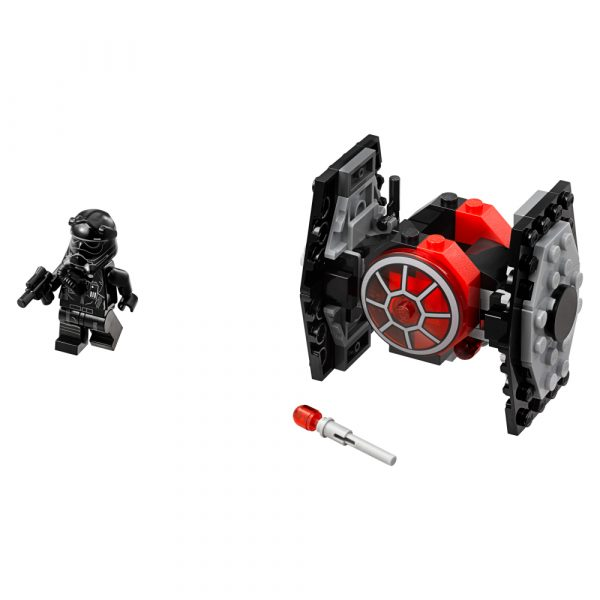 75194 - Microfighter First Order TIE Fighter™ - DISNEY - DISNEY - Marche Star Wars Maschio 12+ Anni, 5-8 Anni, 8-12 Anni Disney