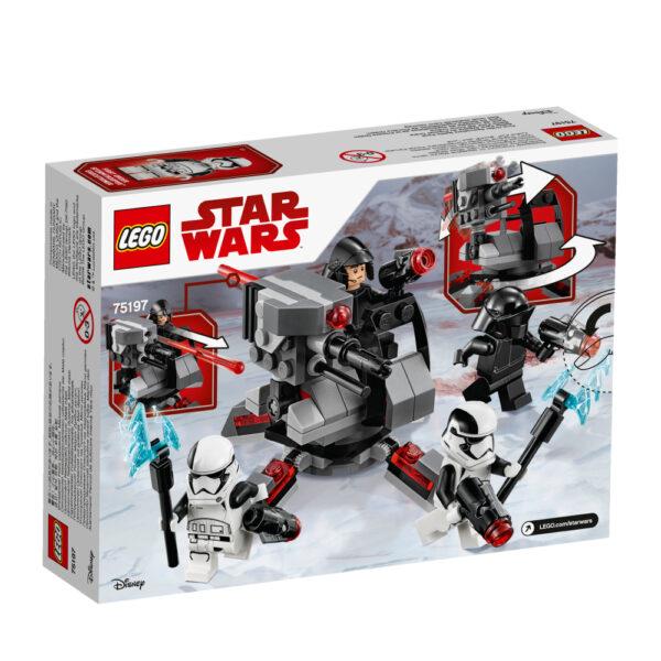 75197 - CONF Battle Pack Ep8 White planet troopers - Età Star Wars Maschio 12+ Anni, 5-8 Anni, 8-12 Anni Disney