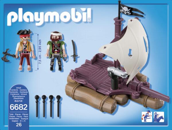 6682 -ZATTERA DEI PIRATI - Playmobil Pirates - Fino al -30%