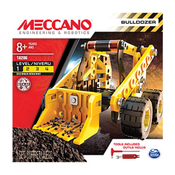 MECCANO Bulldozer Spin Master Unisex 12+ Anni, 8-12 Anni ALTRI