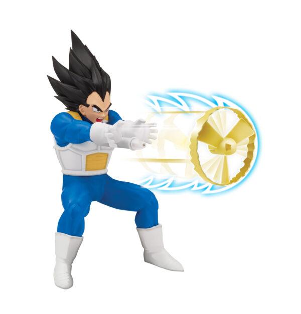 Dragon Ball Super, Personaggio 18 cm deluxe con funzione, Vegeta ALTRO Maschio 3-5 Anni, 8-12 Anni DRAGONBALL