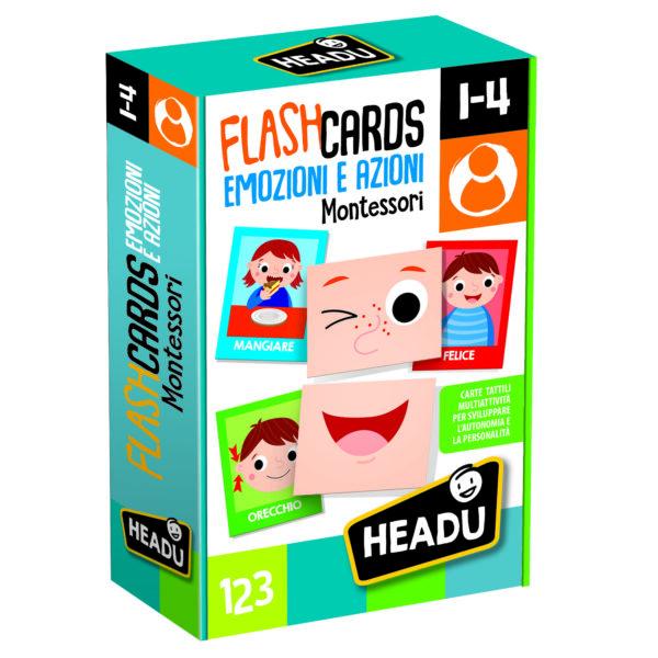 Flashcards Montessori Emozioni e Azioni - ALTRO - Giochi da tavolo