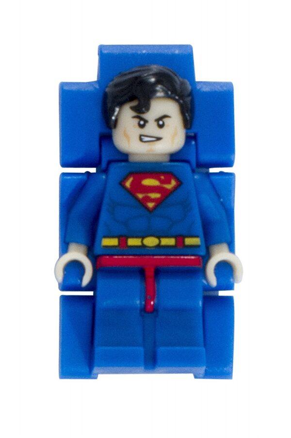 OROLOGIO LEGO SUPER HEROES SUPERMAN - Licenza Lego - LEGO - Marche 12+ Anni, 5-8 Anni, 8-12 Anni Unisex DC COMICS SUPERMAN