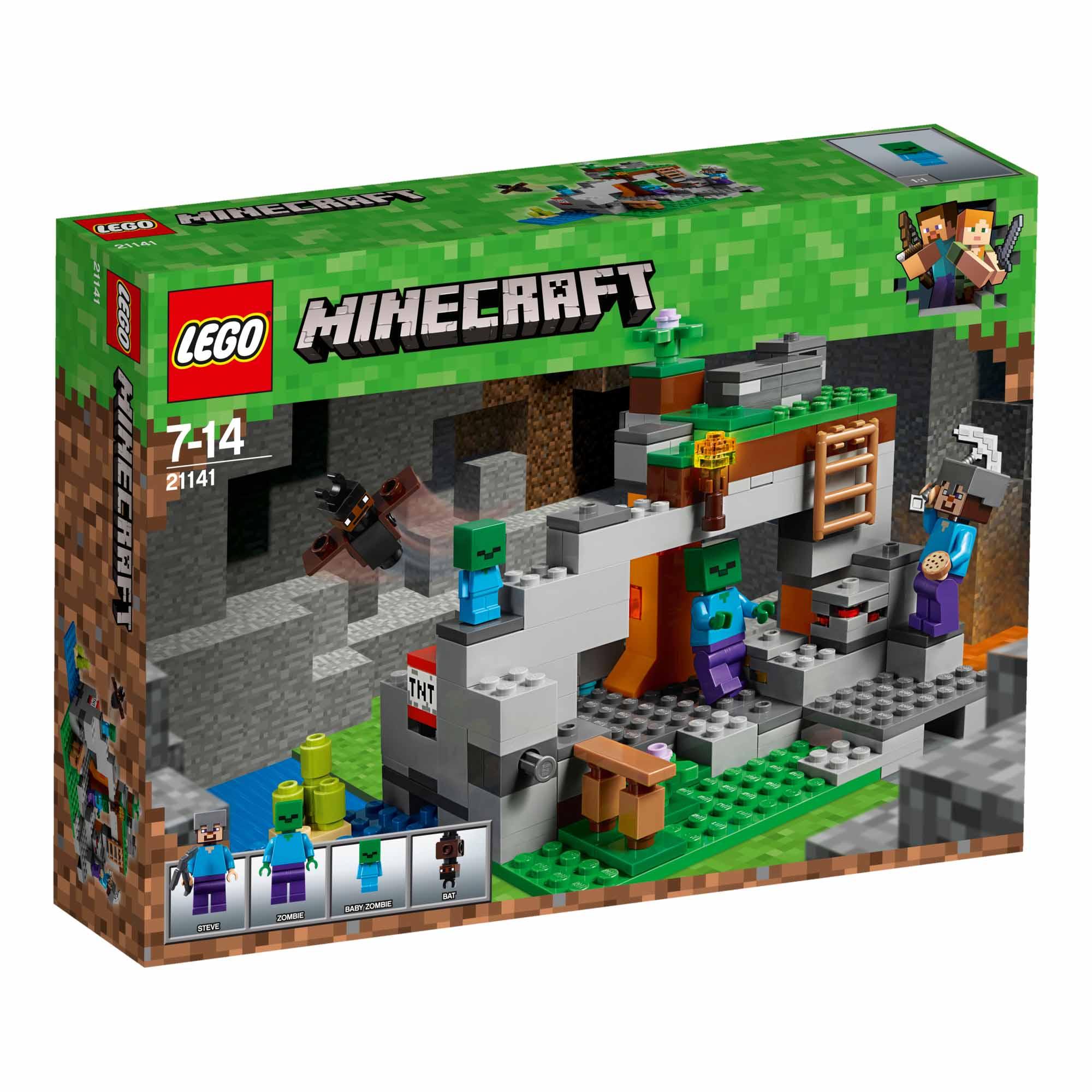 21141 La Caverna Dello Zombie Minecraft Linee