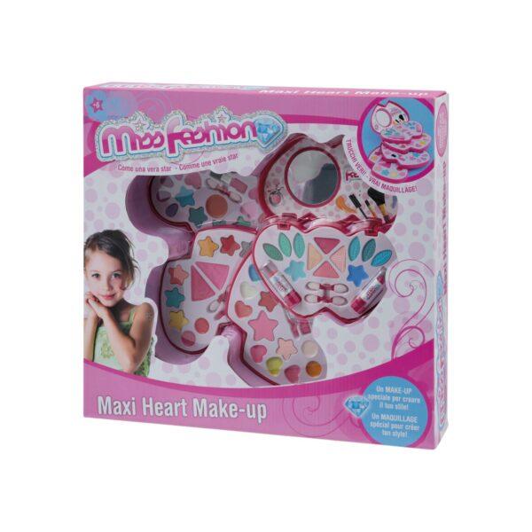 TOYS CENTER MISS FASHION MAXI HEART MAKE UP Femmina 12+ Anni, 5-8 Anni, 8-12 Anni