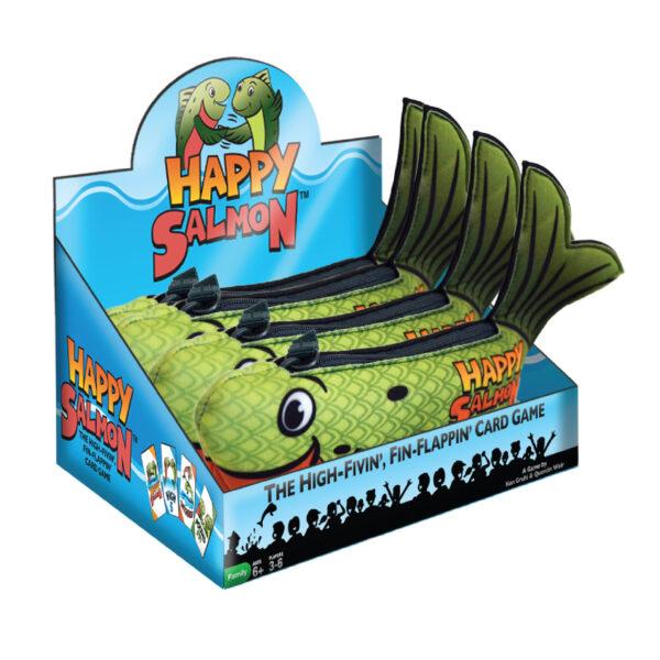 ALTRO ALTRI Happy Salmon - DV GIOCHI - Marche Unisex 12+ Anni, 5-8 Anni, 8-12 Anni