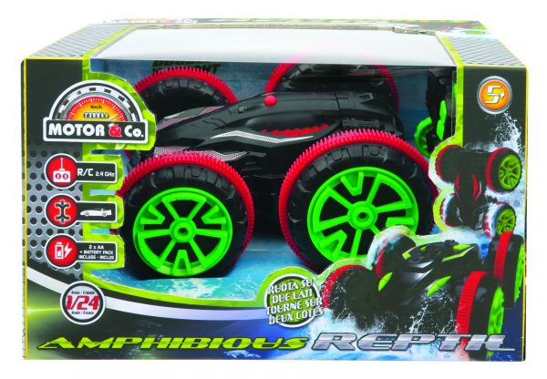 AMPHIBIOUS REPTIL TOYS CENTER Maschio 12+ Anni, 8-12 Anni MOTOR & CO