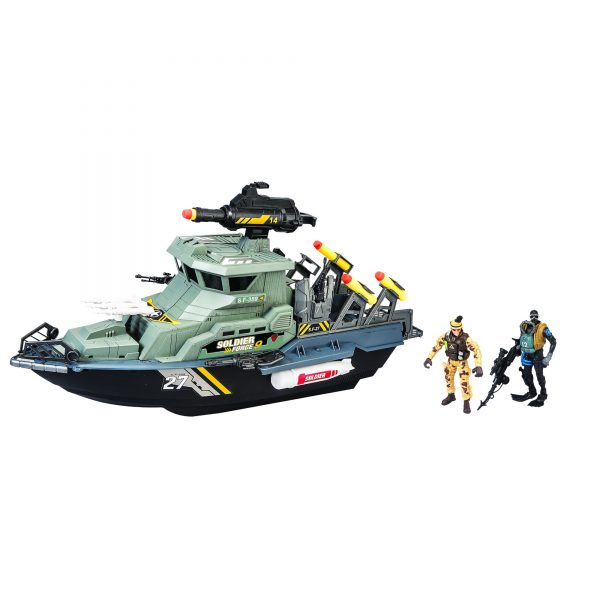 NAVE LANCIAMISSILI INVINCIBLE HEROES, TOYS CENTER Maschio 12-36 Mesi, 12+ Anni, 8-12 Anni SOLDIER FORCE9