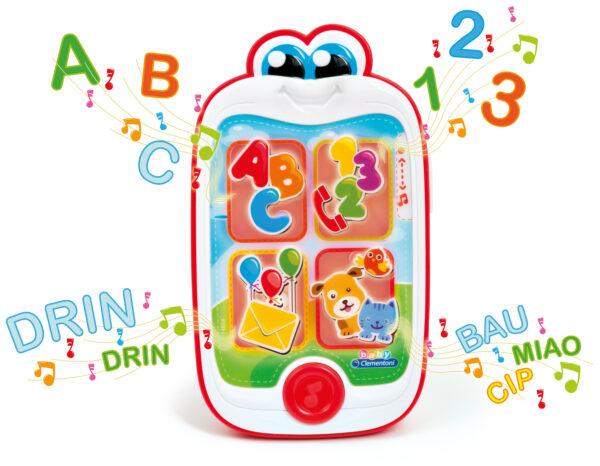 CLEMENTONI - 14854 - Baby Smartphone Unisex 0-12 Mesi, 12-36 Mesi, 3-5 Anni ALTRI BABY CLEMENTONI