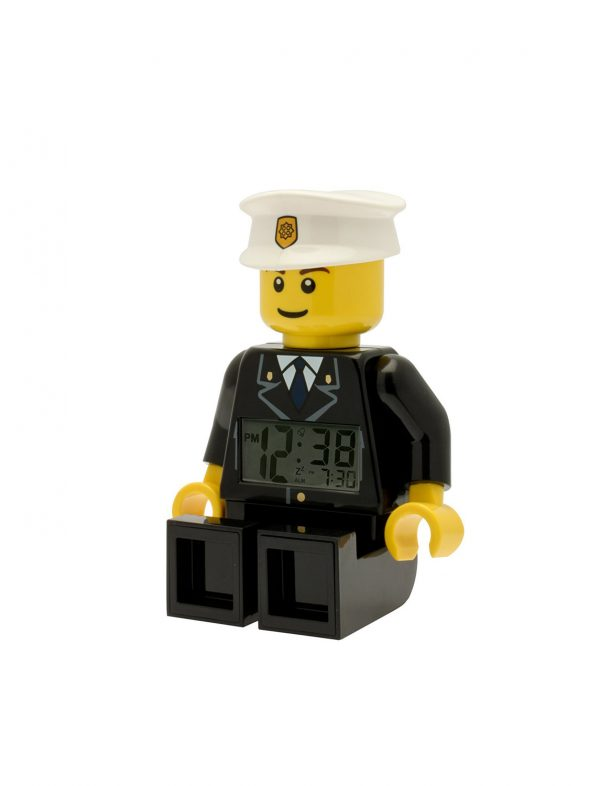 ALTRI ALTRO Unisex 12+ Anni, 5-8 Anni, 8-12 Anni Sveglia LEGO City Poliziotto - Licenza Lego - LEGO - Marche