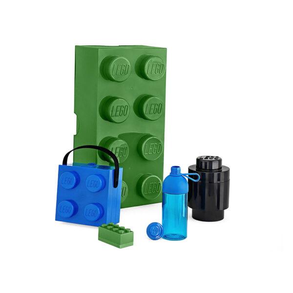 Contenitore LEGO Brick 1 Tondo Nero - Licenza Lego - LEGO - Marche ALTRI Unisex 12-36 Mesi, 12+ Anni, 3-5 Anni, 5-8 Anni, 8-12 Anni ALTRO