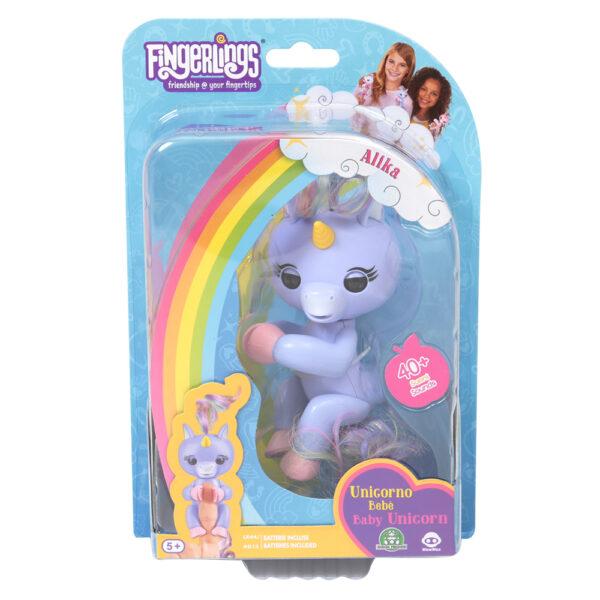 Giochi Preziosi - Fingerlins Unicorno Alika - Altro - Toys Center ALTRO Femmina 12+ Anni, 8-12 Anni ALTRI