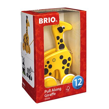 BRIO giraffa trainabile BRIO Unisex 0-12 Mesi, 0-2 Anni, 12-36 Mesi ALTRI