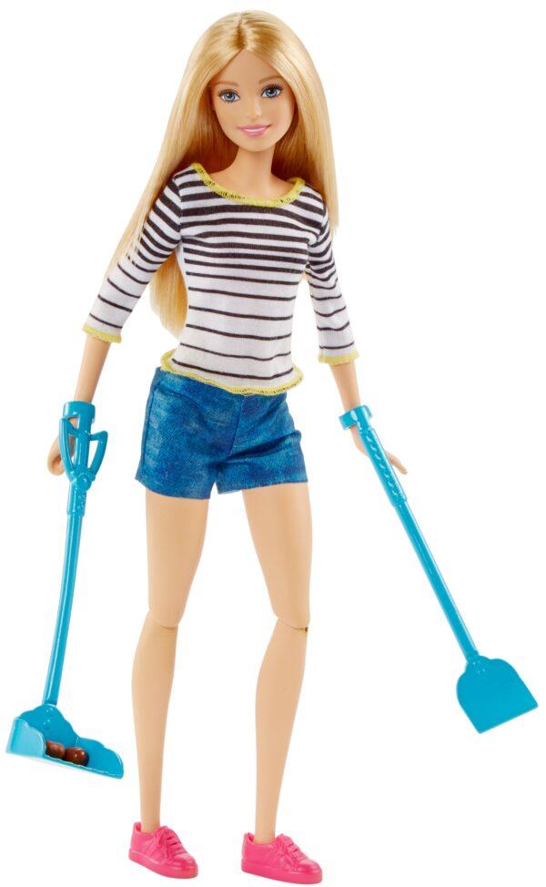 ALTRI Barbie Femmina 3-4 Anni, 5-7 Anni, 5-8 Anni, 8-12 Anni Barbie a Spasso coi Cuccioli
