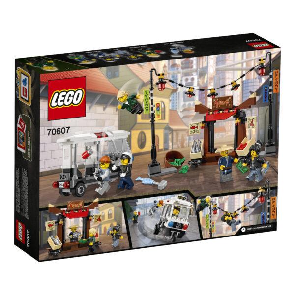 70607 - Inseguimento a NINJAGO® City - Lego Ninjago - Toys Center ALTRI Maschio 12+ Anni, 5-8 Anni, 8-12 Anni LEGO NINJAGO