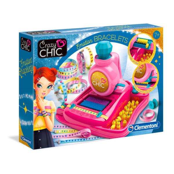 CRAZY CHIC - BRACCIALI EMOZIONALI - Crazy Chic - Toys Center CRAZY CHIC Unisex 12+ Anni, 5-8 Anni, 8-12 Anni ALTRI