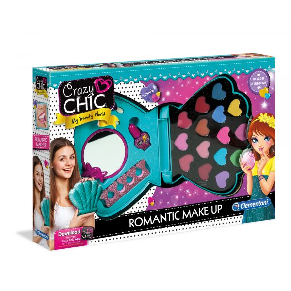 CRAZY CHIC - ROMANTIC MAKE UP - Crazy Chic - Toys Center CRAZY CHIC Unisex 12+ Anni, 5-8 Anni, 8-12 Anni ALTRI