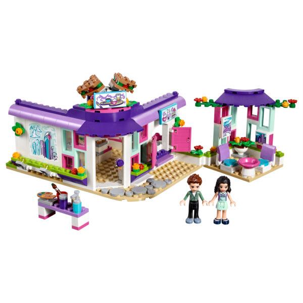LEGO FRIENDS ALTRI LEGO Friends  - Il caffè degli artisti di Emma - 41336 Femmina 12+ Anni, 5-8 Anni, 8-12 Anni