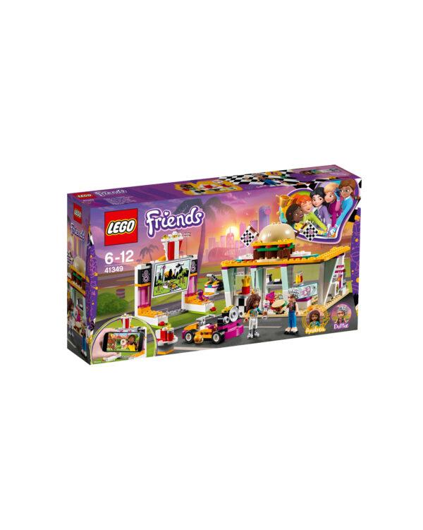 ALTRI LEGO FRIENDS Unisex 12+ Anni, 5-8 Anni, 8-12 Anni LEGO 41349 - Il fast-food del go-kart