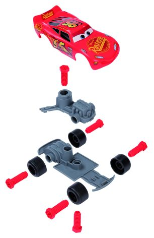 Cars 3 Mack Truck Trolley - Smoby - Toys Center Maschio 12-36 Mesi, 12+ Anni, 3-5 Anni, 5-8 Anni, 8-12 Anni CARS SMOBY