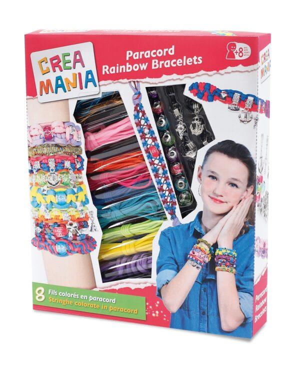 Braided bracelets - Creamania Girl CREAMANIA GIRL Femmina 12+ Anni, 5-8 Anni, 8-12 Anni ALTRI
