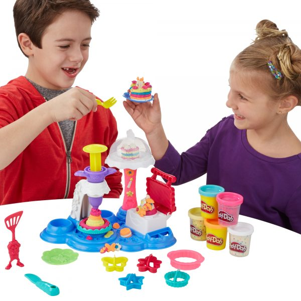 ALTRI PLAY-DOH Unisex 12-36 Mesi, 3-4 Anni, 3-5 Anni, 5-7 Anni, 5-8 Anni Play Doh  Cake Party