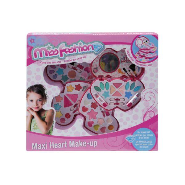 MAXI HEART MAKE UP MISS FASHION Femmina 12+ Anni, 5-8 Anni, 8-12 Anni TOYS CENTER