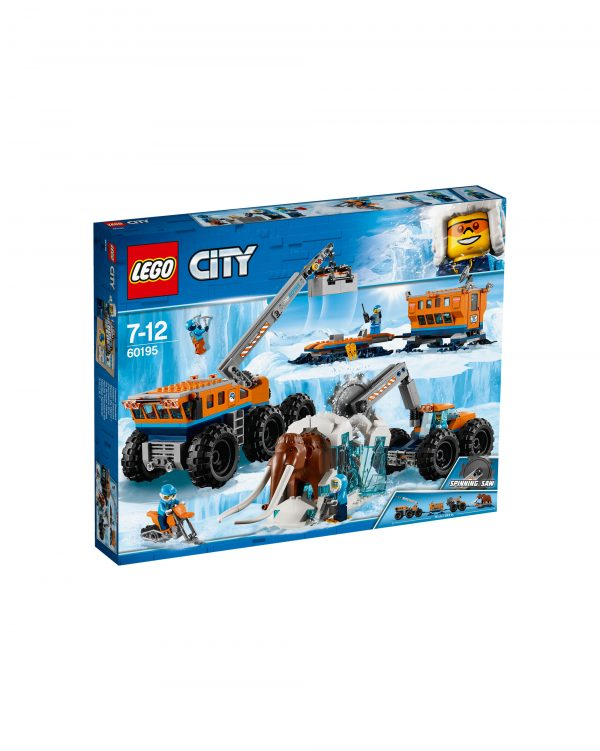 60195 - Base mobile di esplorazione artica LEGO CITY Unisex 12+ Anni, 5-8 Anni, 8-12 Anni ALTRI
