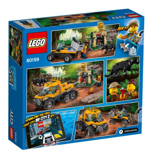 LEGO 60159 - Missione nella giungla con il semicingolato JURASSIC WORLD Maschio 12+ Anni, 5-8 Anni, 8-12 Anni LEGO CITY