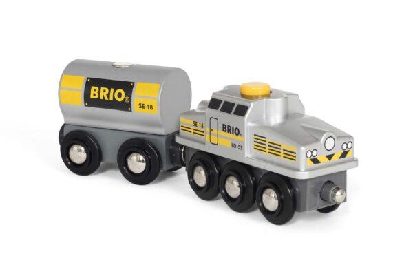 BRIO Treno special edition argentato - Brio Trenini, Vagoni E Altri Veicoli - Toys Center BRIO TRENINI, VAGONI E ALTRI VEICOLI Unisex 12-36 Mesi, 3-5 Anni, 5-8 Anni, 8-12 Anni ALTRI