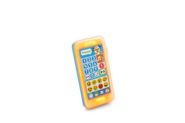 Fisher Price- Smartphone Lascia Un Messaggio, Giocattolo Elettronico Ridi Impara 18-36 Mesi ALTRI Unisex 12-36 Mesi FISHER-PRICE