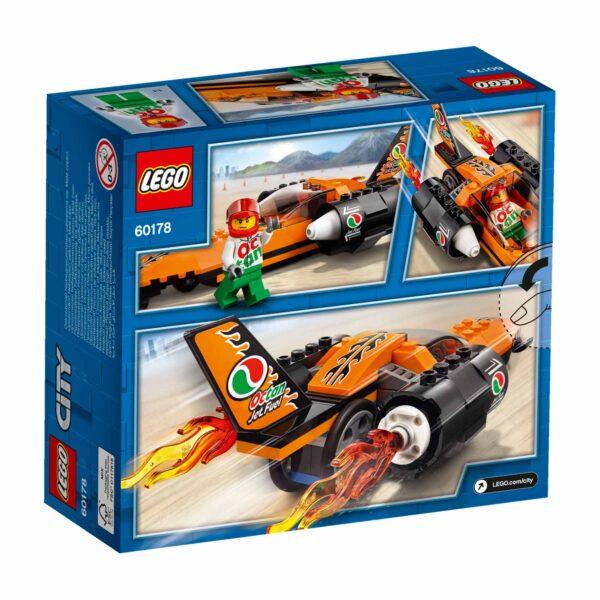 LEGO CITY ALTRI 60178 - Bolide da record - Lego City - Toys Center Maschio 12+ Anni, 3-5 Anni, 5-8 Anni, 8-12 Anni