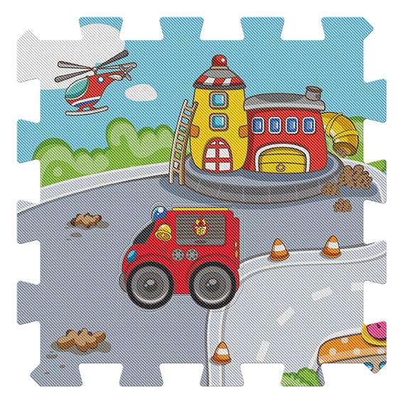 Tappeto Puzzle Città 0-2 Anni, 3-4 Anni Unisex Chicco ALTRI