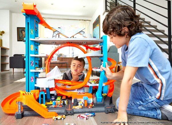 Hot Wheels - garage delle Acrobazie - Hot Wheels - Toys Center Maschio 8-12 Anni ALTRI Hot Wheels