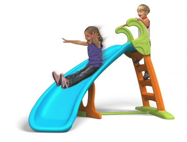 Scivolo Feber Con Curva - Feber - Toys Center ALTRI Unisex 12-36 Mesi, 3-4 Anni, 3-5 Anni, 5-7 Anni, 5-8 Anni FEBER