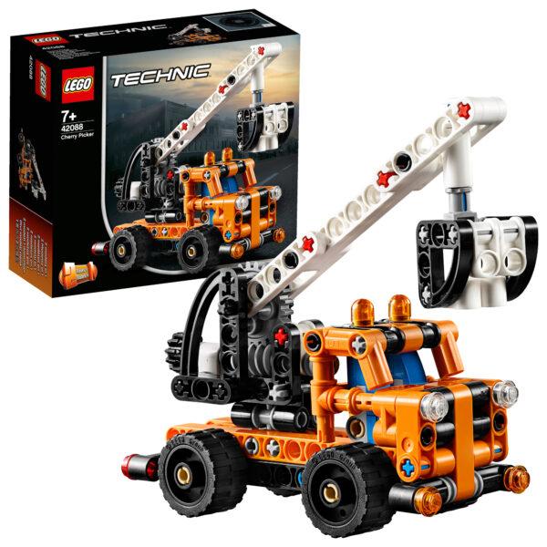 LEGO TECHNIC- Gru a cestello 42088 LEGO TECHNIC Unisex 12+ Anni, 5-8 Anni, 8-12 Anni ALTRI