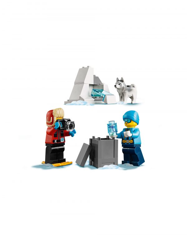 60191 - Team di esplorazione artico - Lego City - Toys Center - LEGO CITY - Costruzioni